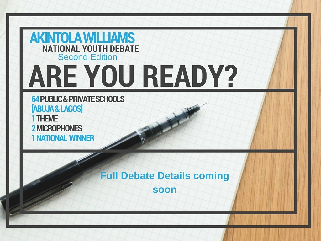 Akintola Williams National Youth Debate 2016
