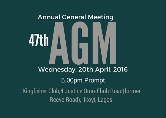 Nigeria-Britain Association AGM 2016 BANNER DESIGN