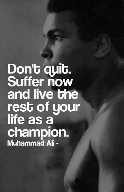 Mohammed Ali #Monday Quotes