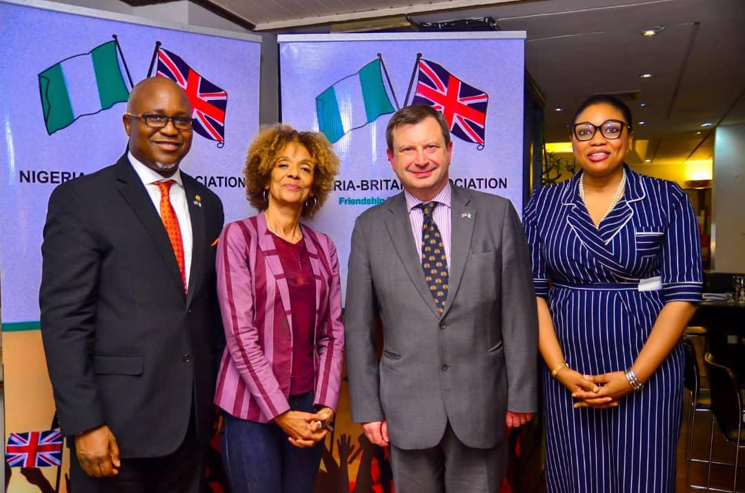 Send Forth: N-BA Hosts the British High Commissioner, Paul Thomas Arkwright. – Nigeria-Britain-Association