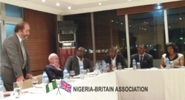 A PARLEY WITH DAVID HEATH MP,CBE UK PRIME MINISTER'S SPECIAL ENVOY TO NIGERIA