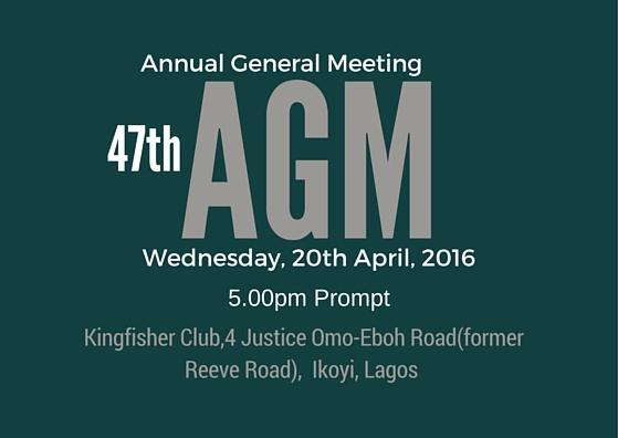Nigeria-Britain Association AGM 2016 BANNER DESIGN