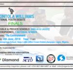 Nigeria-Britain Association Promo Debate Design Sample 1